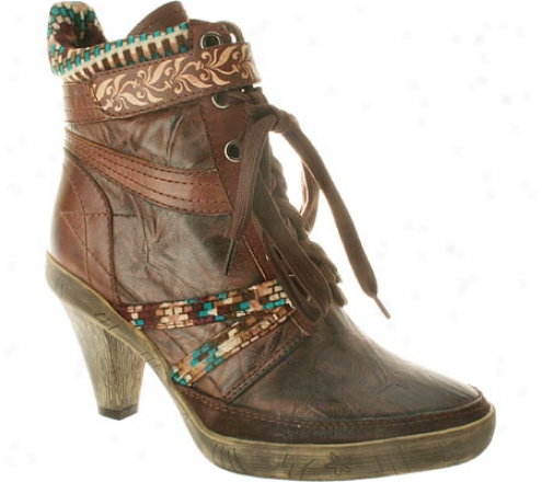 Spring Sttep Laine (women's) - Brown Leather