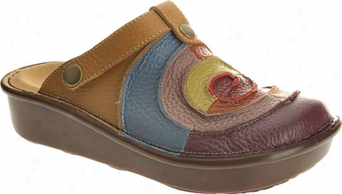 Spring Step Lollipop (women's) - Purple Multi Leather