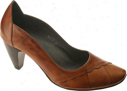Spring Step Mirth (women's) - Medium Brown Multi Leather