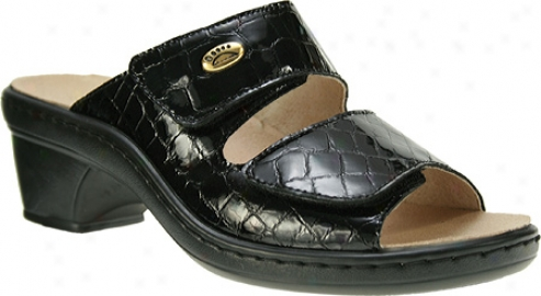 Spring Step Palazzo (women's) - Blcak Leather