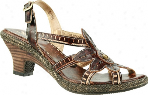 Spring Step Salvia (women's) - Brown Leather