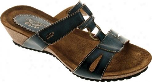 Spring Step Seneca (women's) - Blue Leather
