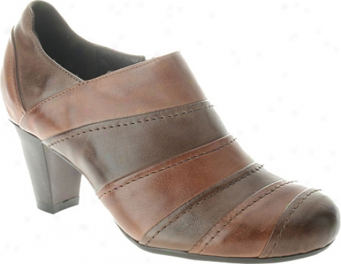 Spring Step Sonic (women's) - Brown/tan Combo eLather