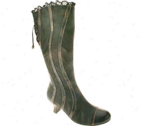 Spring Step Thalia (women's) - Black Leather