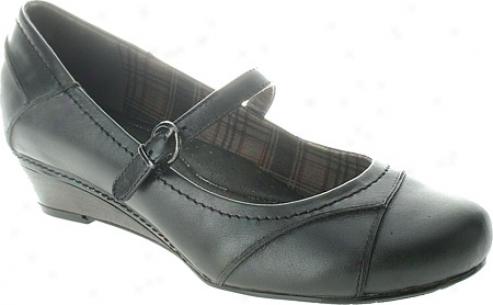 Spring Step Vision (women's) - Black Leather