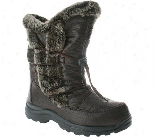 Spring Step Yukon (women's) - Brown Nylon