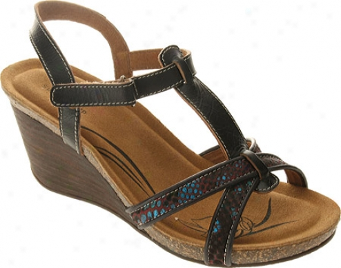 Leap Step Zora (women's) - Black Leather