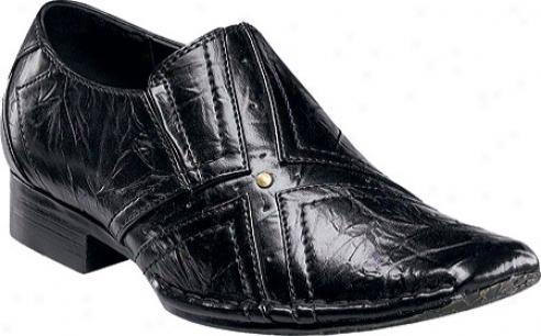Stacy Adams Ash 43296 (boys') - Black Leather