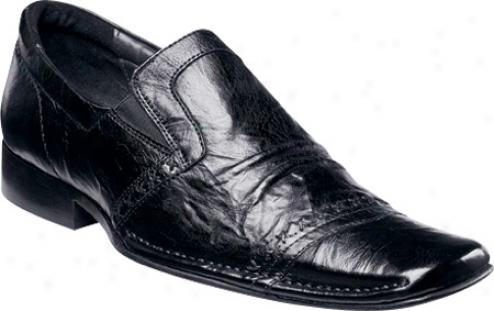 Stacy Adams Highland 2601 (men's) - Black Wrinkled Leather