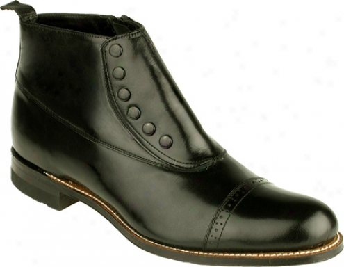Stacy Adams Madison 00026 (men's) - Black Kid Leather