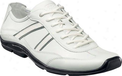 Stacy Adams Manhattan 53356 (men's) - White Leather