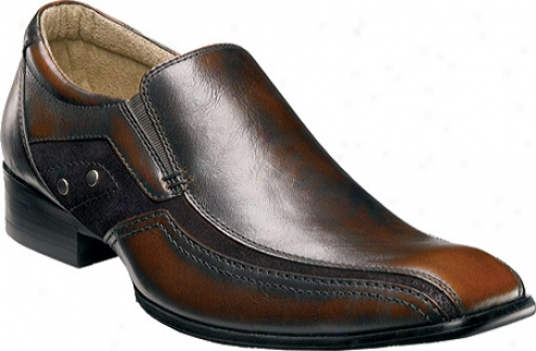 Stacy Adams Rook 24660 (men's) - Brown Smooth Leather