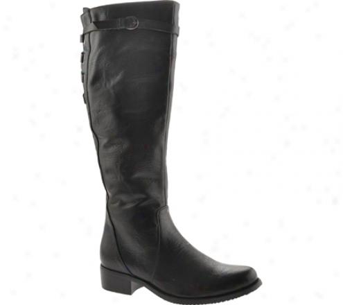Stefani Bebe 11 (women's) - Black Smooth Leather