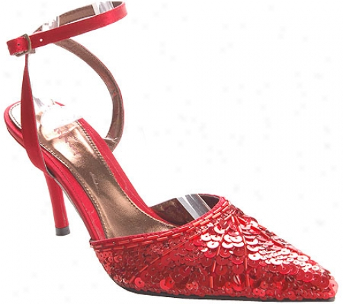 Stefani Nancy Ii (women's) - Red Sequin