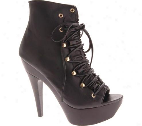 Steve Madden Towwer (women's) - Black Leather