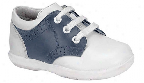 Stride Rite Baby Murphy (infant Boys') - White/navy Full Grain