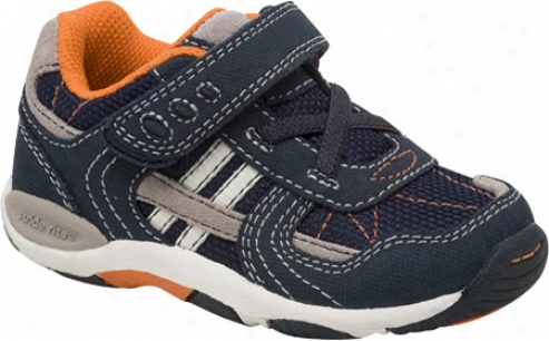Stride Rite Baby Rex (infant Boys') - Navy/pebble Suede/meshh