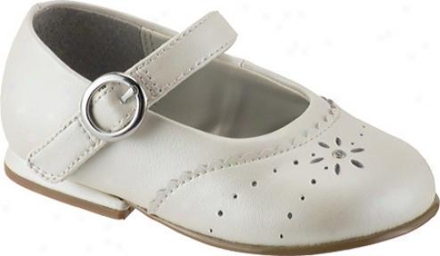 Stride Rite Camila Mj (infant Girls') - Bone Pearlized Leather