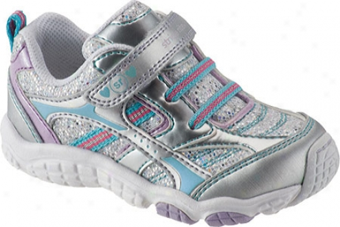 Stride Rite Carlota (infant Girls') - Silvsr/lilac/surf Leather/mehs