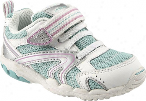 Stride Rite Cece( infant Girls') - Pool/petunia Leather/mesh