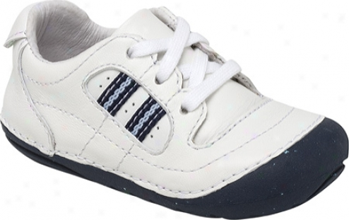 Stride Rite Eaglet (infant Boys') - White/classic Navy Leatuer