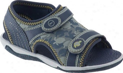 Stride Rite Everett (infant Boys') - Navy/od Green/citron Neoprene