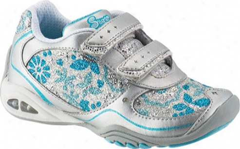 Stride Rite Mel (infant Girls') - Silver/turquoise Leather