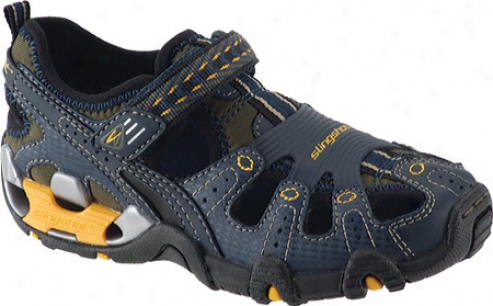Stride Rite Slingshot Sandal (boys') - Navy Leather