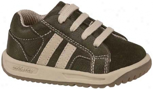 Stride Rite Sprout (infant Boys') - Brown/sandstone Tumbled Full Grain