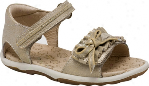 Stride Rite Srt Avery (infant Girls') - Parchment/gold Leather