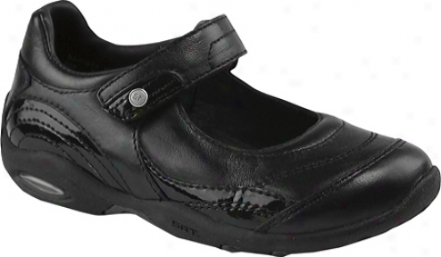 Stride Rite Srt Ps Trina (infant Girls') - Black Leather/synthetic