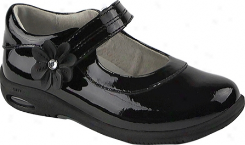 Stride Rite Srt Ps Trista (girls') - Black Patent