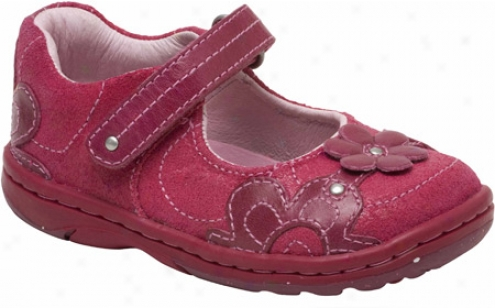 Stride Ceremony Srt Quinn (infant Girls') - Berry/peony Leather