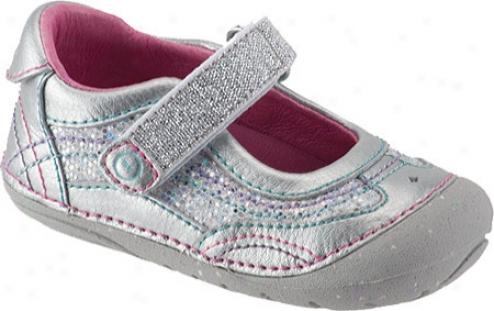 Stride Rite Srt Sm Cleo (infant Girls') - Silver Leather
