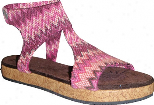 Sun Luks By Muk Luks Mondo (women's) - Berry