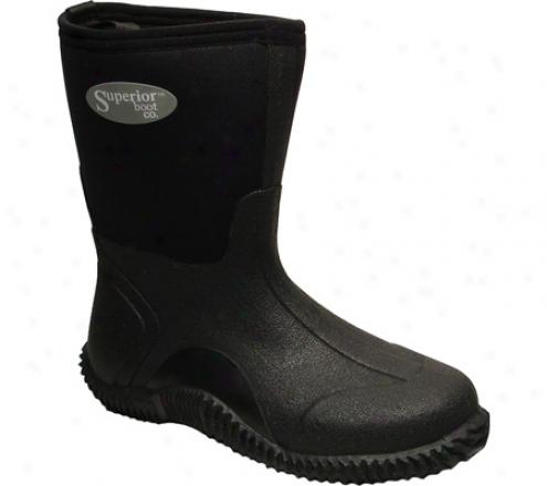 """superior Boot Co. 11"""" Mud Boot (women's) - Black Neoprene"""