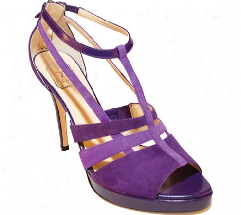Takera Shoes Asjha (women's) - Violet/lavender Suede
