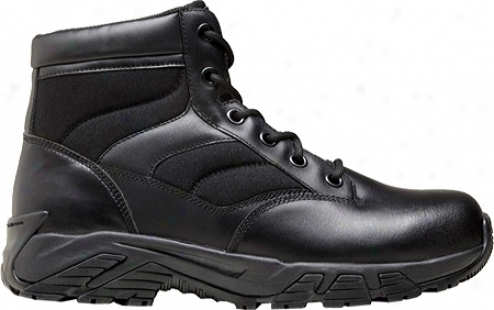 """terra Perimeter 6"""" (men's) - Black Leather"""