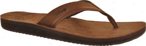 Teva Mush Luxe (women's) - Brown