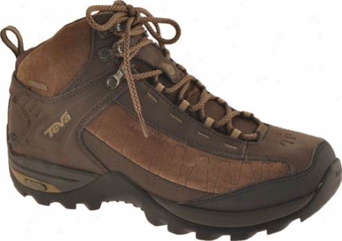 Teva Raith Leather Mid Wp (men's) - Turkish Coffee