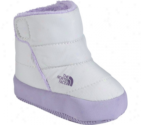 The North Face Nse Bootie (Babe Girls') - Moonlight Ivory/gravity Purple