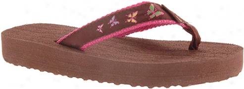 Tidewater Sandals Butterfly (girls') - Multicolored