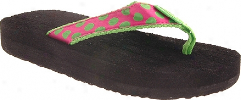 Tidewater Sandaals PolkaD ots (infant Girls') - Pink/green