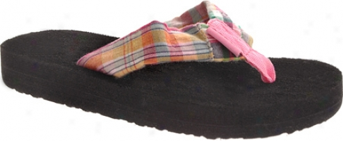 Tidewater Sandals Summer Madras (girls') - Multicolored