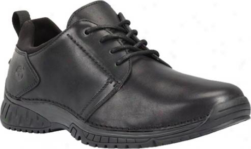 Timberland City Adventure City Endurance Plain Toe Oxford (men's) - Black Smooth Leather