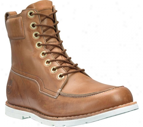 """""""timberland Earthkeepers 2.0 Rugged 6"""""""" Waterproof Moc Toe Boot (men's) - Buniwhed Light Brown Smooth Full Grain Leather"""""""