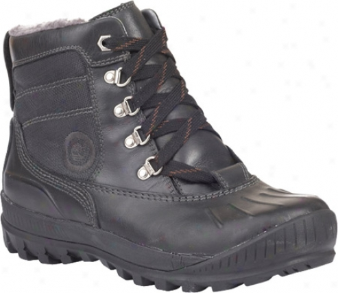 Timbrrland Earthkeepers Mount Holly Duck Chukka (women's) - Black/black Waterproof Leather/fabric