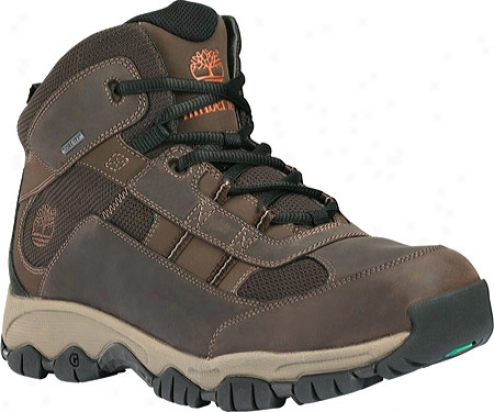 Timberland Edge Trail Mid Gore-tex (men's) - Dark Brown Waterproof Leather