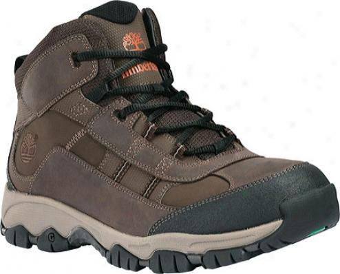 Timberland Edge Trail Mid (men's) - Dark Brown Leather