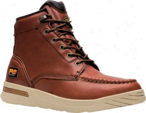 """timberland Endurance Pr Wedge 6"""" Soft Toe (men's) - Chimney Oiled Full Gfain Leather"""